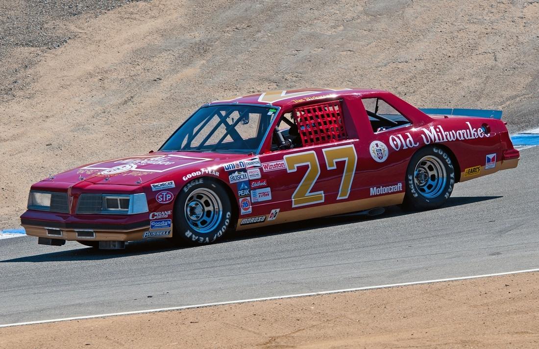 Rusty Wallace Ford >> DAVID*S & NASCAR Cars @ Laguna Seca